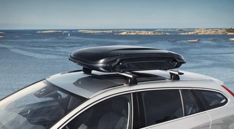 Expandable roof box